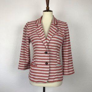 Anthropologie Cartonnier Stripe Jacket JKT272